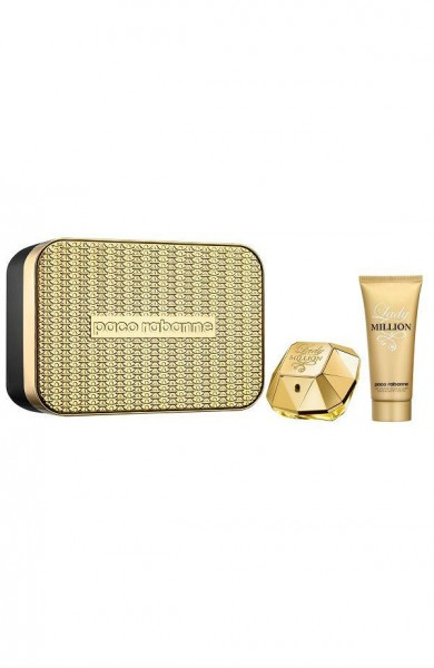 סט בושם ותחליב גוף Paco Rabanne Lady Million