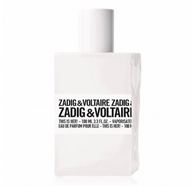 בושם לאישה 100 מל zadig & voltaire this is her edp
