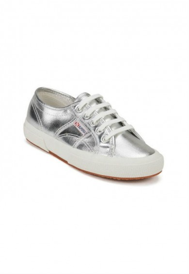 סופרגה כסף נשים Superga Metallic Silver
