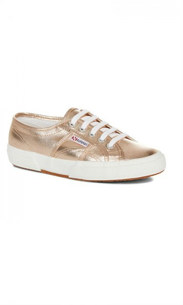 סופרגה ורוד מטאלי נשים Superga Metallic Rose