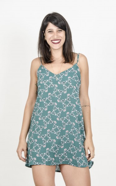 Ania Dress-GREEN