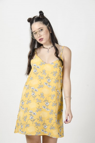 Ania Dress-YELLOW