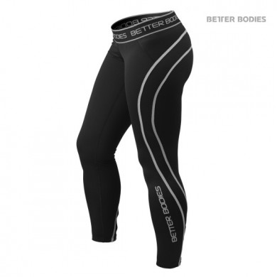 ATHLETE TIGHTS BLACK / GREY