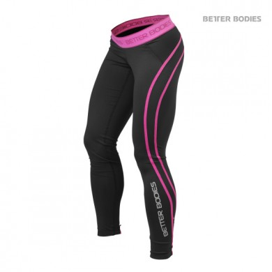ATHLETE TIGHTS BLACK / PINK