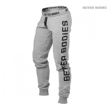 SLIM SWEATPANT, GREY MELANGE
