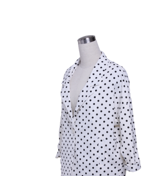 White Spotted Jacket