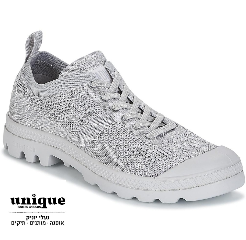 סניקרס פלדיום בצבע אפור OX LITE KNIT W GREY DUST/